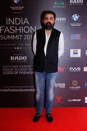 Sabyasachi Mukherjee at  India Fashion Summit 2016